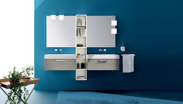 Ecco cosa intendo per bagno minimalista ed elegante
