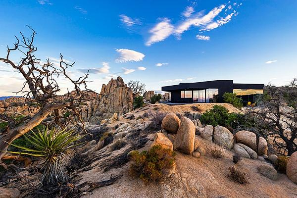 The Black Desert House in California