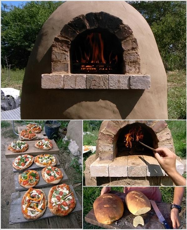 Costuire un forno esterno in mattoni