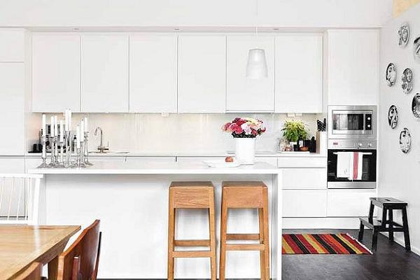 Cucina essenziale, pratica e moderna