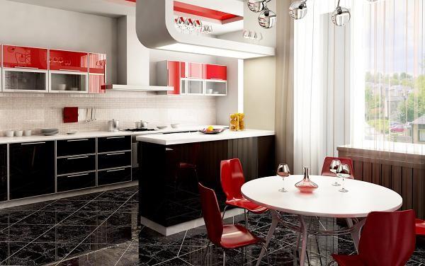 Bianco, rosso e nero: abbinamento perfetto