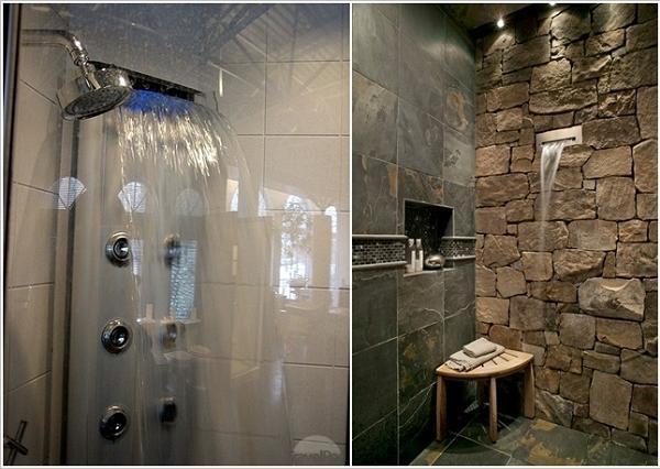 Non un soffione doccia, ma una vera e propria cascata