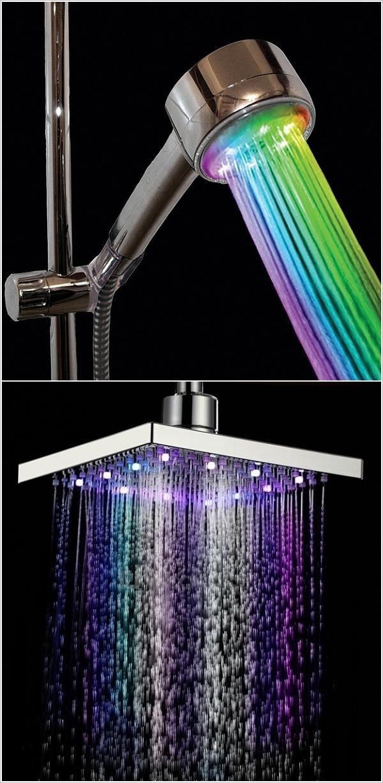 La doccia colorata