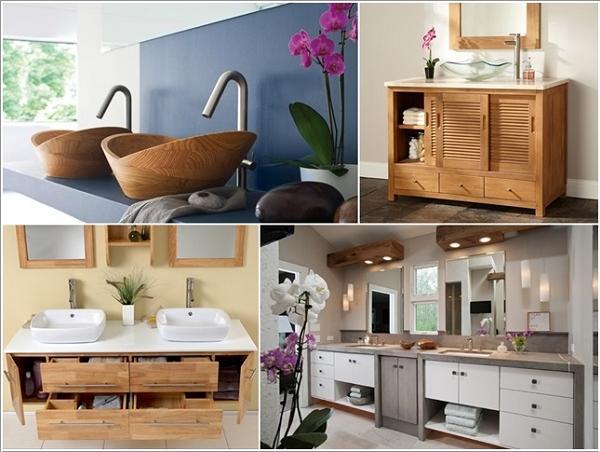 5 bagni dove il legno la fa da protagonista