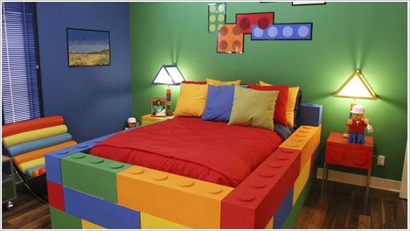 5 camerette LEGO style che i vostri figli adoreranno