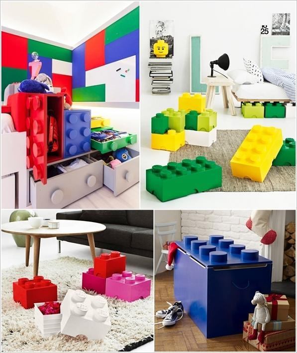 Armadi, scatole e arredamento LEGO