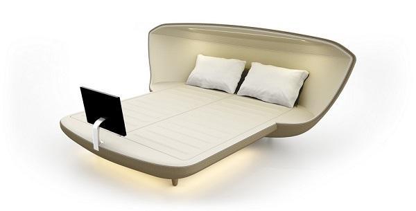 Un letto ultra high-tech!