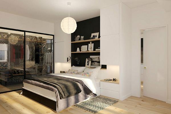 Ancora un dettaglio della camera da letto