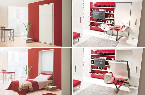 Una soluzione salva-spazio per i piccoli appartamenti