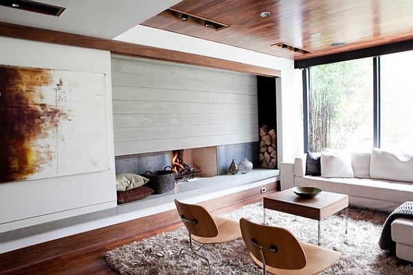 Idee minimaliste per soggiorni moderni