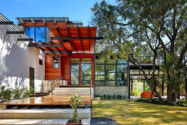 Una casa ecologicamente responsabile