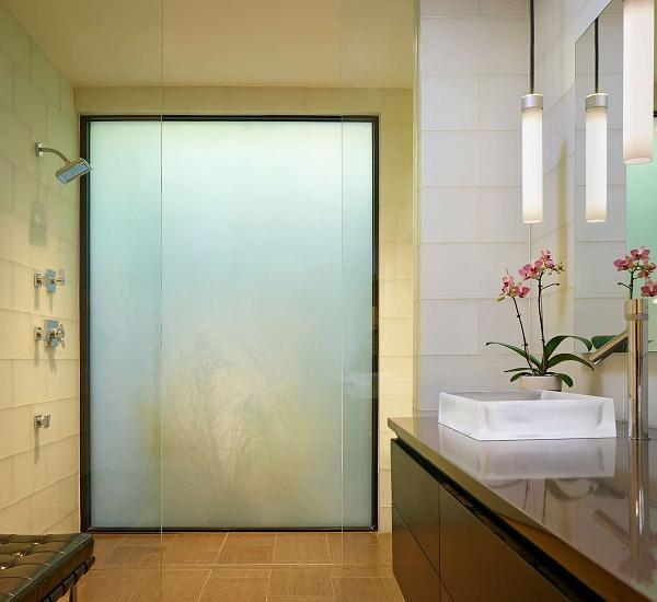 Eleganza e la pratica del bagno-doccia