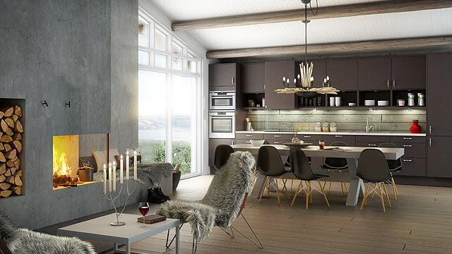 Cucine in salsa nordica