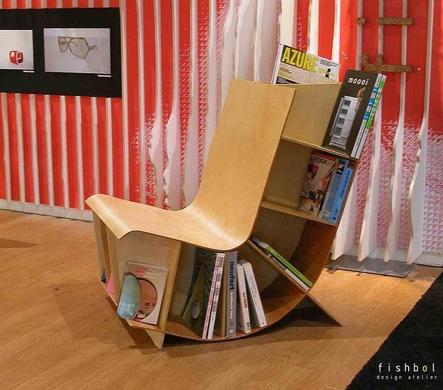 La sedia porta giornali