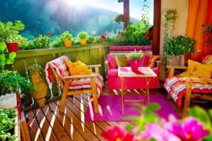 Arredare il terrazzo di casa con pochi soldi