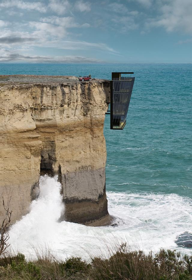 Cliff House: casa panoramica con brivido
