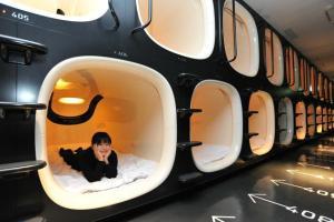 A Tokyo si può dormire nei Capsula Hotel