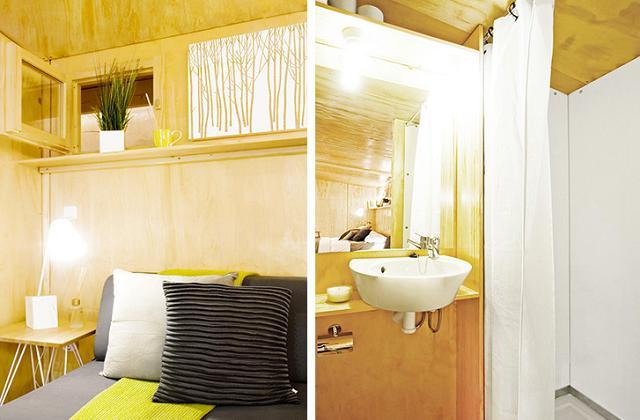 Vivere in 15 mq: la Mini House