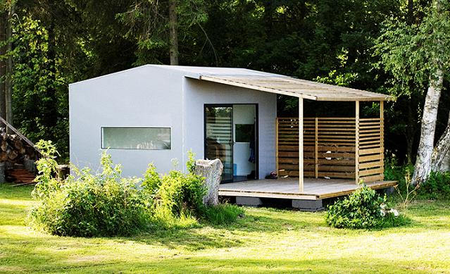 Realt o fantasia la mini casa prefabbricata pronta in 2 giorni - Quanto costa una casa prefabbricata di 200 mq ...