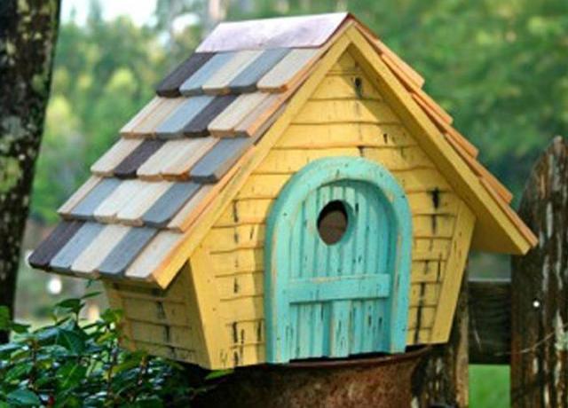 Creare le casette per gli uccellini con il fai da te - Costruire casette in legno fai da te ...