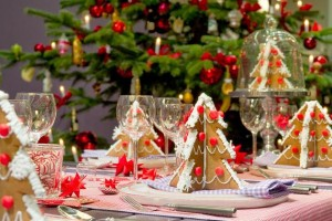Come decorare la tavola a Natale