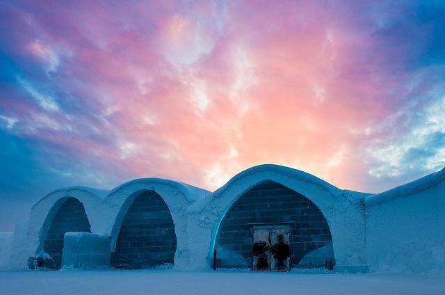 L'hotel (di ghiaccio) più grande del mondo