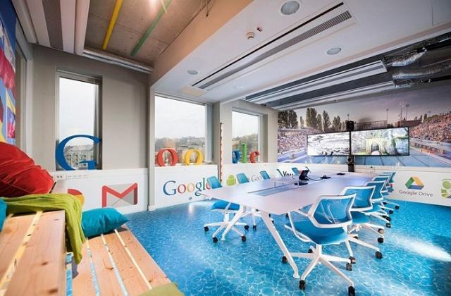I fantastici uffici di Google a Budapest