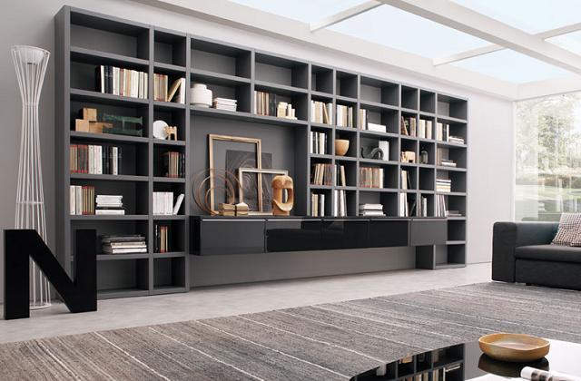 Librerie di design: arrediamo casa con le librerie