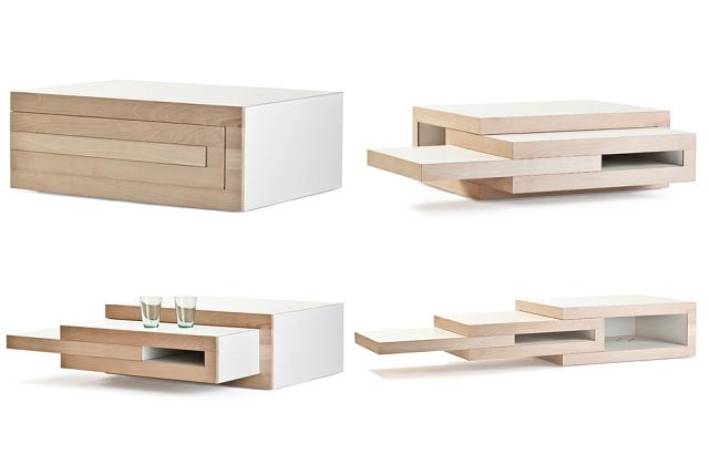 un tavolino funzionale e moderno per un arredamento elegante e modulare