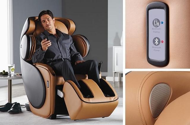 Poltrona (tecnologica) da massaggio shiatsu