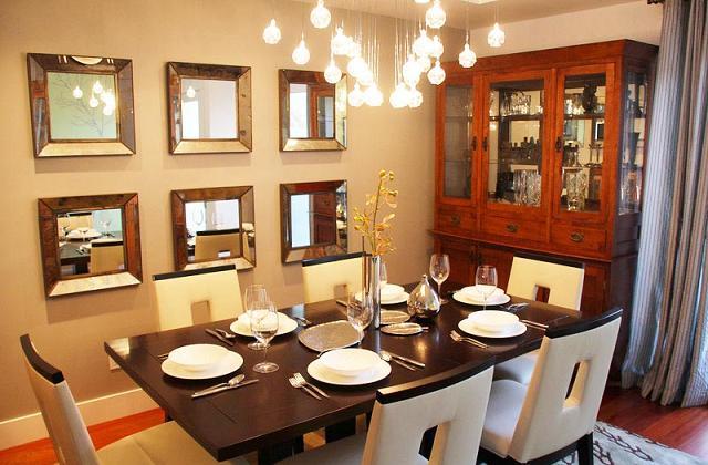 Scegliere il lampadario giusto per la sala da pranzo - Lampadario sala ...