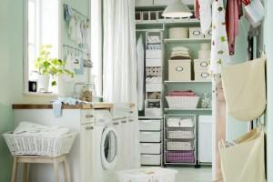 Come organizzare ed arredare la lavanderia di casa