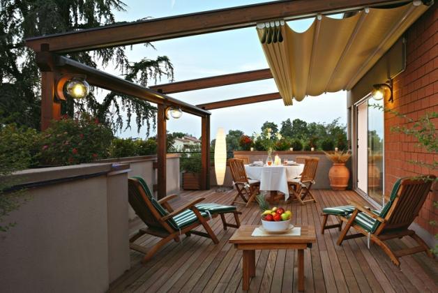 Beautiful terrazzo giardino images idee arredamento casa