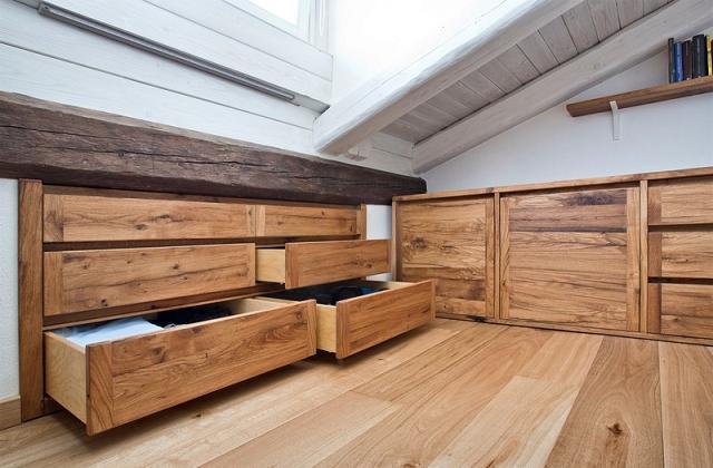 Come trasformare una mansarda in camera da letto pagina for Camera da letto matrimoniale in mansarda