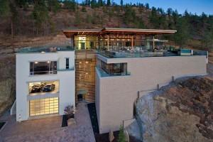 Case da sogno: la villa sul lago in Canada