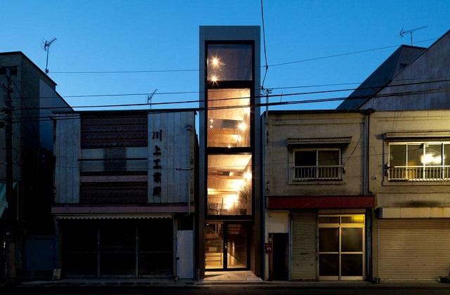 La casa più stretta del mondo ma con interni spettacolari