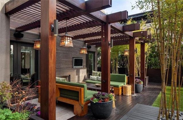 Pergolati mobili di design: stile e comodità per l'outdoor