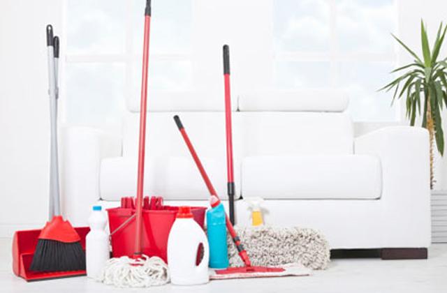 tenere casa sempre pulita