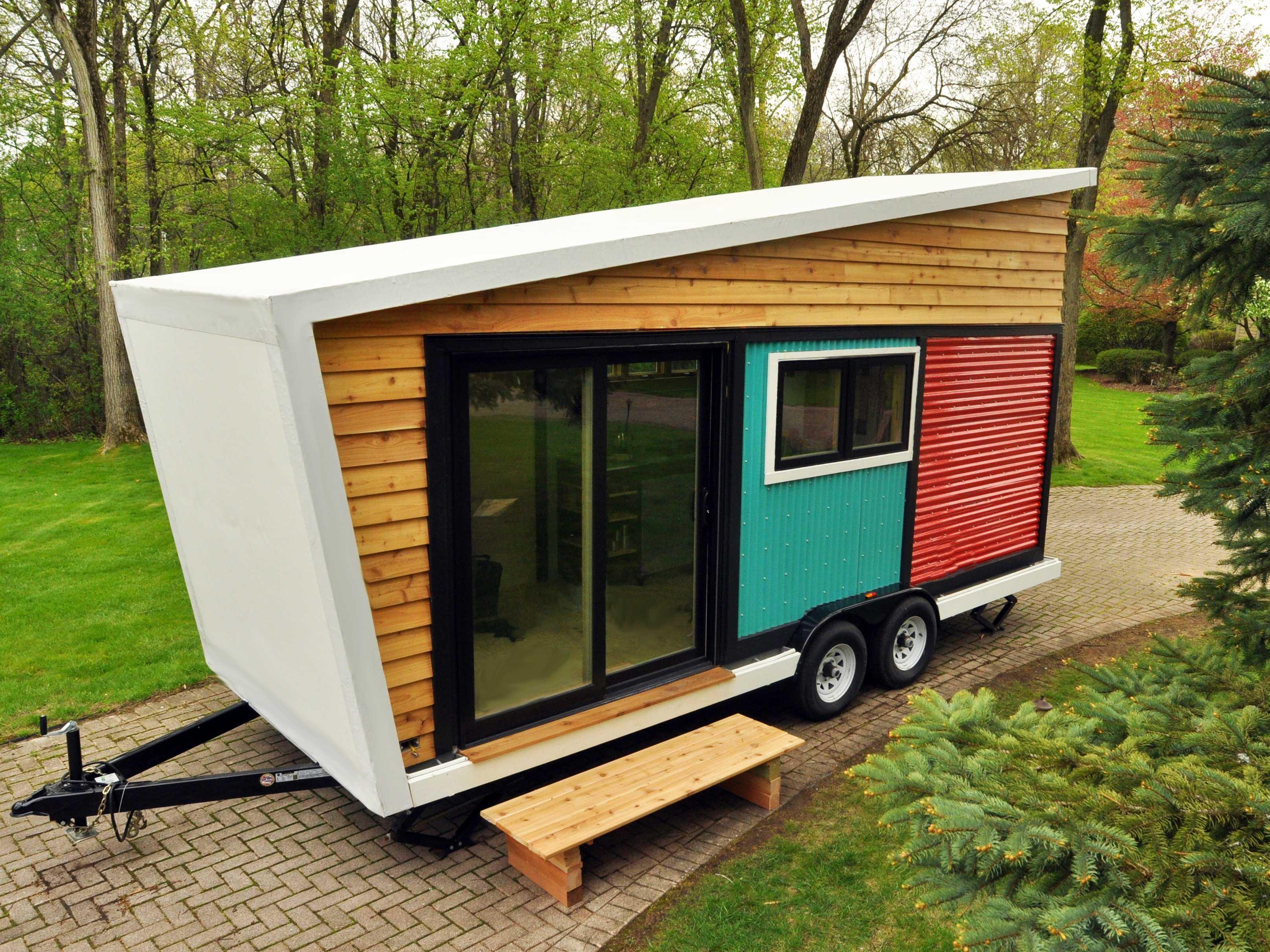 La piccola casa mobile che nasconde interni da sogno - Tiny house interni ...