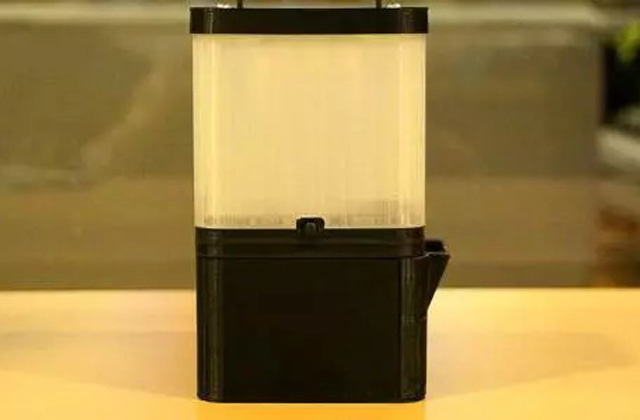 lampada portatile ecologica