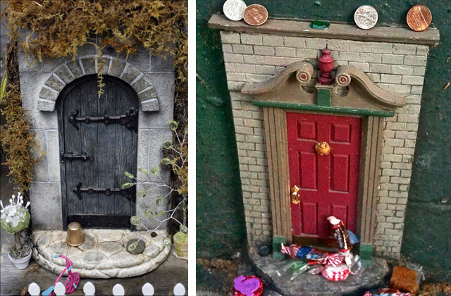 Realizzare una piccola porta delle fate e la magia inizia for Piani casa delle fate
