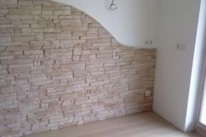 Come creare una parete di pietre finte, facilmente