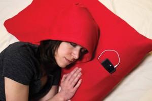 Il cuscino HoodiePillow per il vostro relax