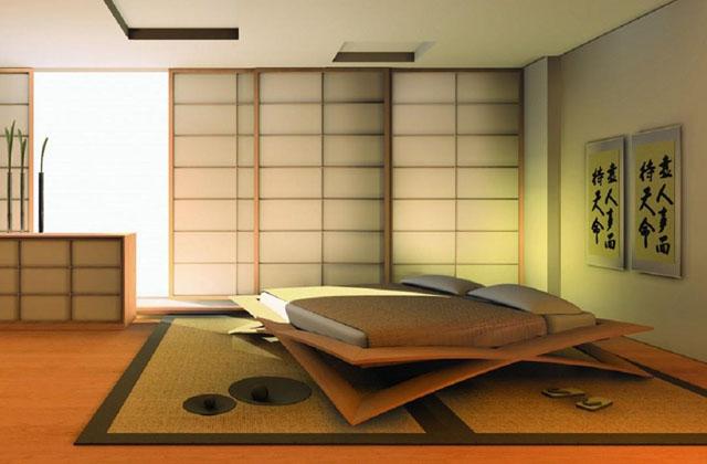 La camera da letto in stile giapponese idee da copiare - Letto giapponese ...