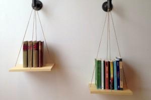 Una bella libreria a forma di bilancia