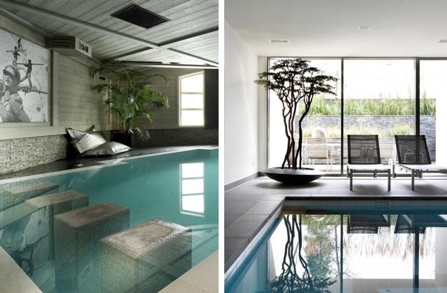 Una piscina dentro casa pu essere a vasca ovvero luaccesso for Interni case da sogno