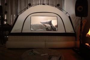 Risparmiare sul riscaldamento con una tenda