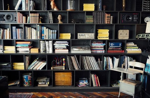 I libri come complemento di arredo