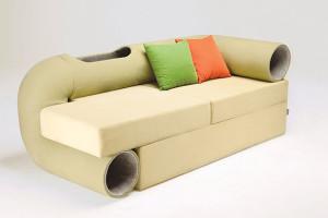 Il divano pensato per gli amanti dei gatti