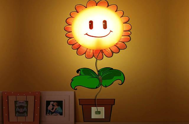 lampada girasole